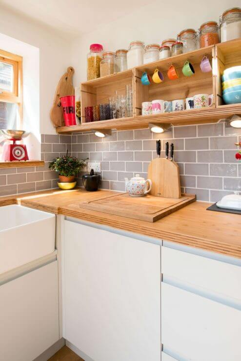 new compact kitchen from Sheffield Sustainable Kitchens