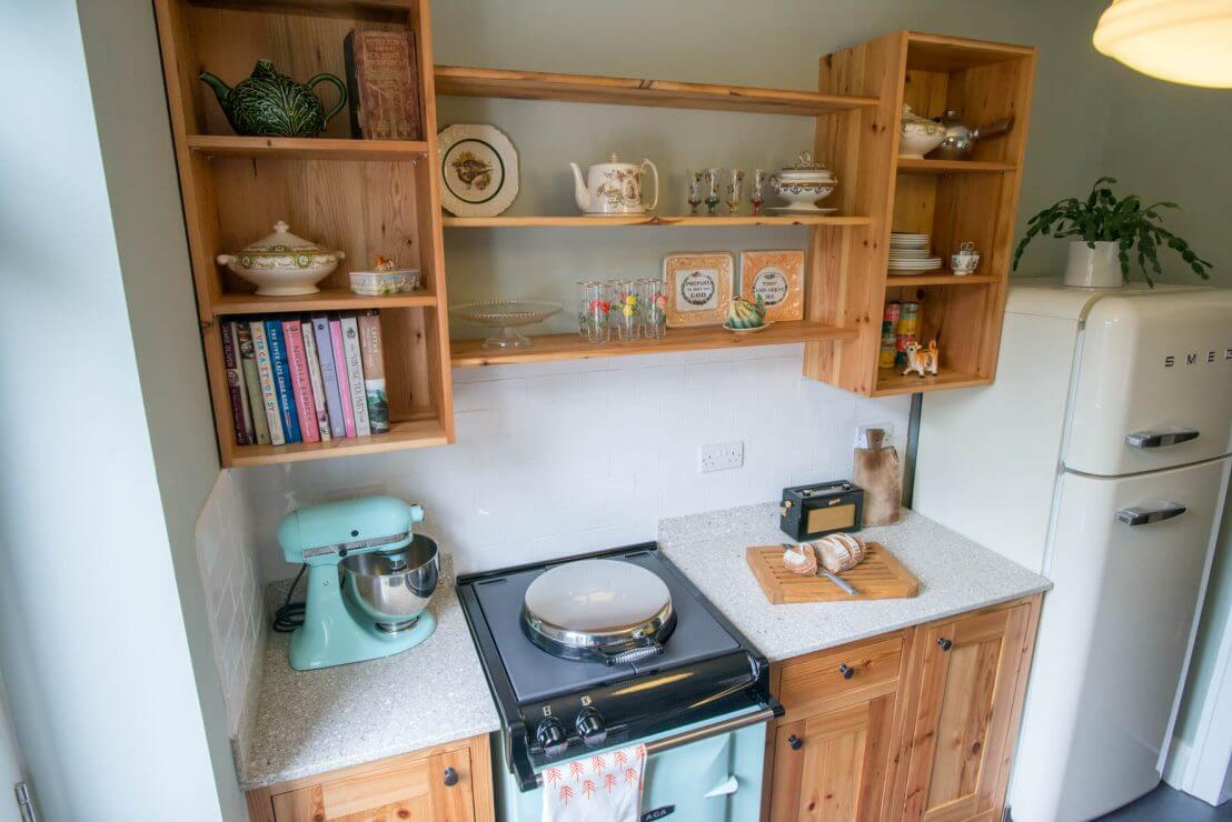new kitchen galley design in compact space