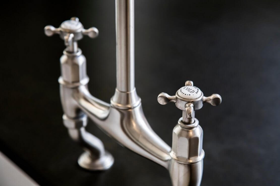 perrin and rowe tap in new kitchen