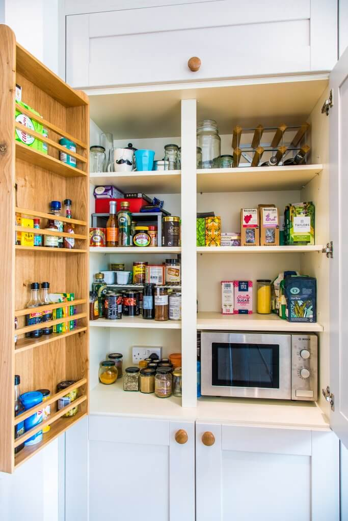 kitchen larder food storage