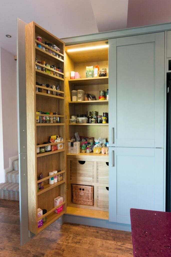 freestanding kitchen larder unit food storage
