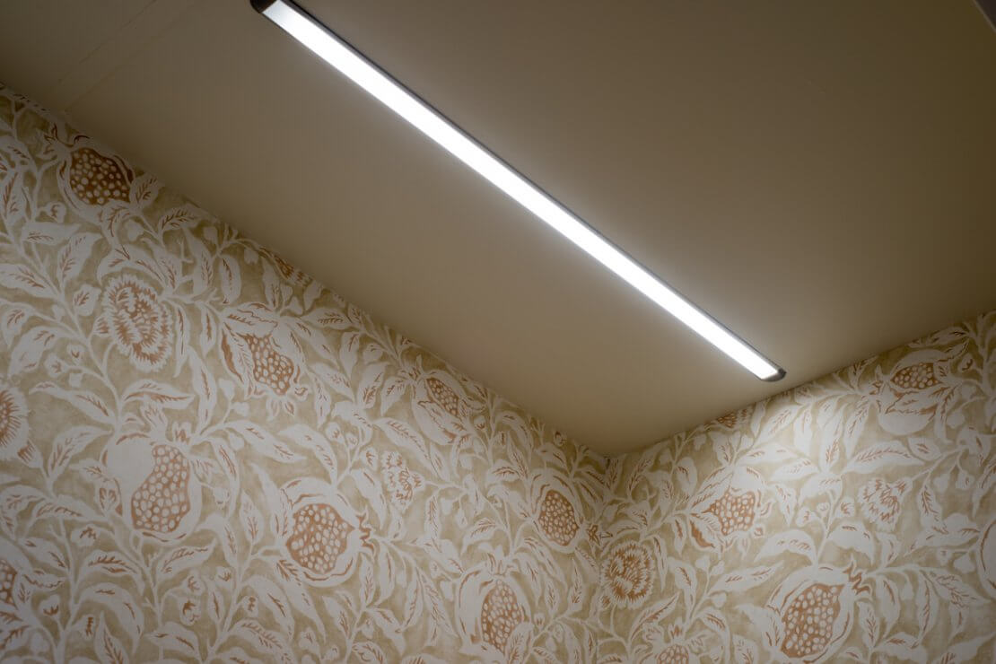 fitted wardrobe light