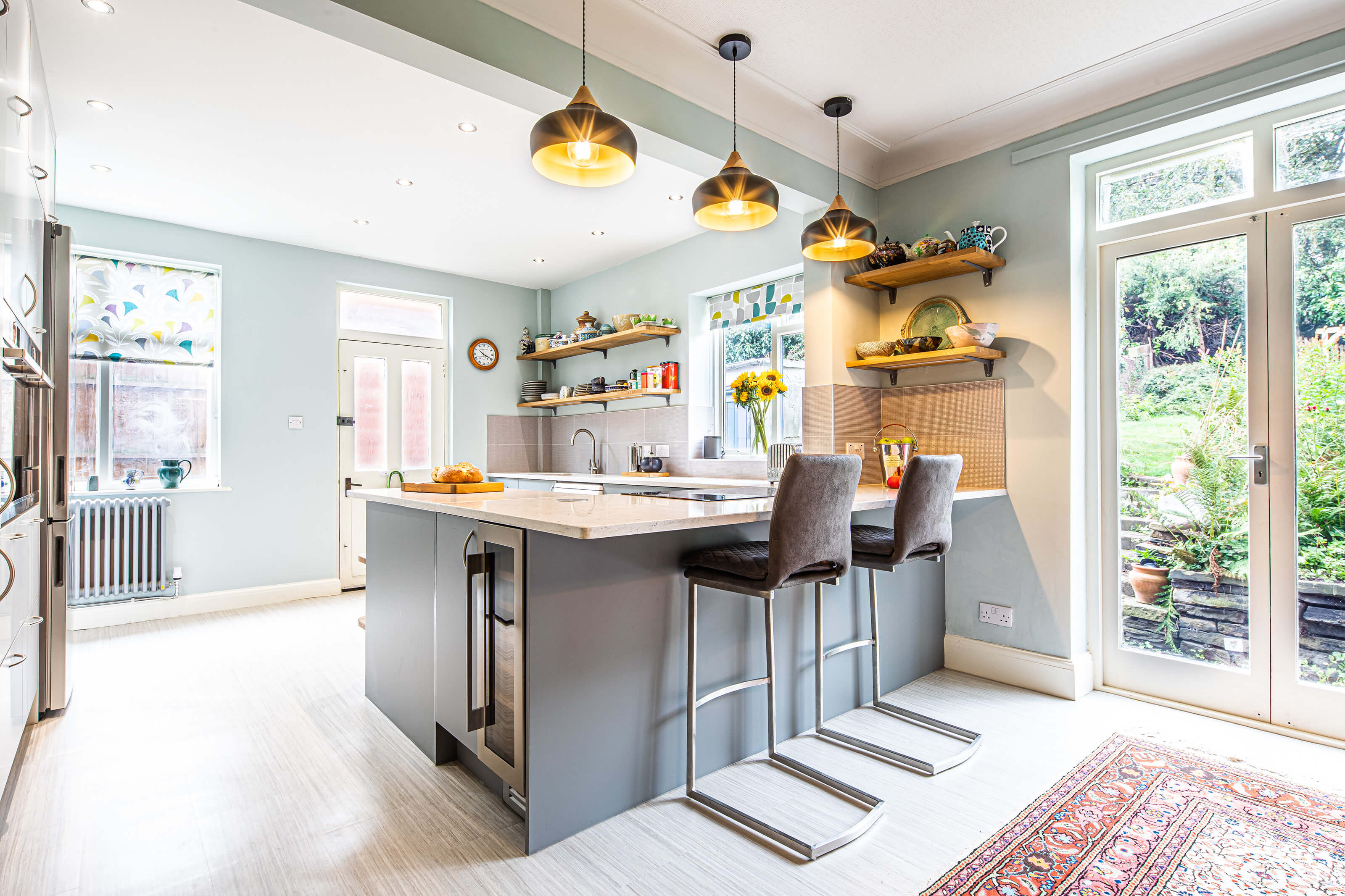 Kitchen Diner Blues Sheffield Sustainable Kitchens